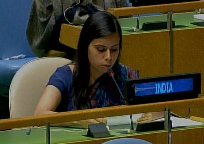 UN में भारत ने पाकिस्तान को उसी की भाषा में दिया जवाब