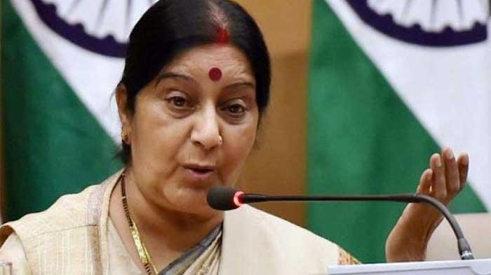 श्रीलंका, पुलवामा हमलों ने भारत को आतंकवाद से लड़ने के लिए और प्रतिबद्ध बनाया: स्वराज