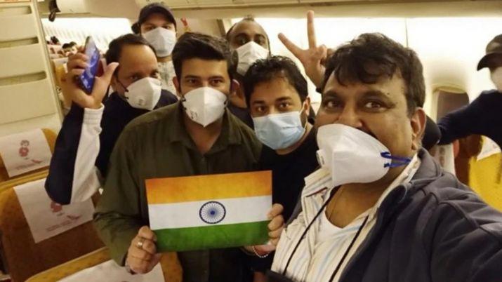 जापान के डायमंड प्रिंसेस पर फंसे 119 भारतीय नई दिल्ली पहुंचे