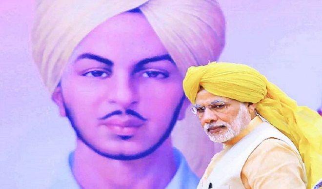 अमर शहीद भगत सिंह की जयंती, पीएम मोदी ने द्वीट कर दी श्रद्धांजलि