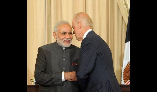 PM मोदी ने अमेरिका के निर्वाचित राष्ट्रपति बाइडन से की बात, मजबूत साथ की प्रतिबद्धता जताई