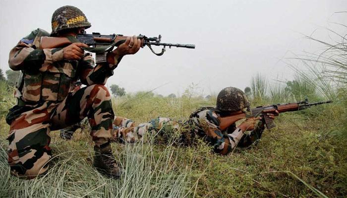 जम्मू-कश्मीर: LoC पर 3 घुसपैठिए ढेर, भारतीय सेना के 4 जवान घायल